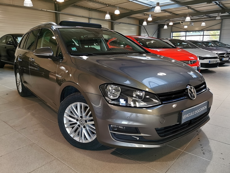 Volkswagen GOLF VII SW 1.6 TDI 105CH BLUEMOTION TECHNOLOGY FAP CUP Diesel GRIS F Occasion à vendre