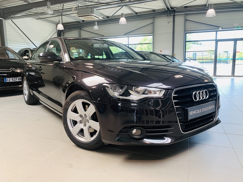 Audi A6 3.0 V6 TDI 204CH AMBITION LUXE MULTITRONIC Diesel GRIS F Occasion à vendre