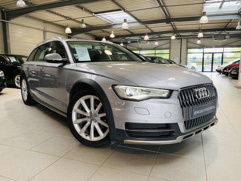 Audi A6 ALLROAD 3.0 V6 TDI 272CH AMBITION LUXE QUATTRO S TRONIC 7 Diesel GRIS C Occasion à vendre